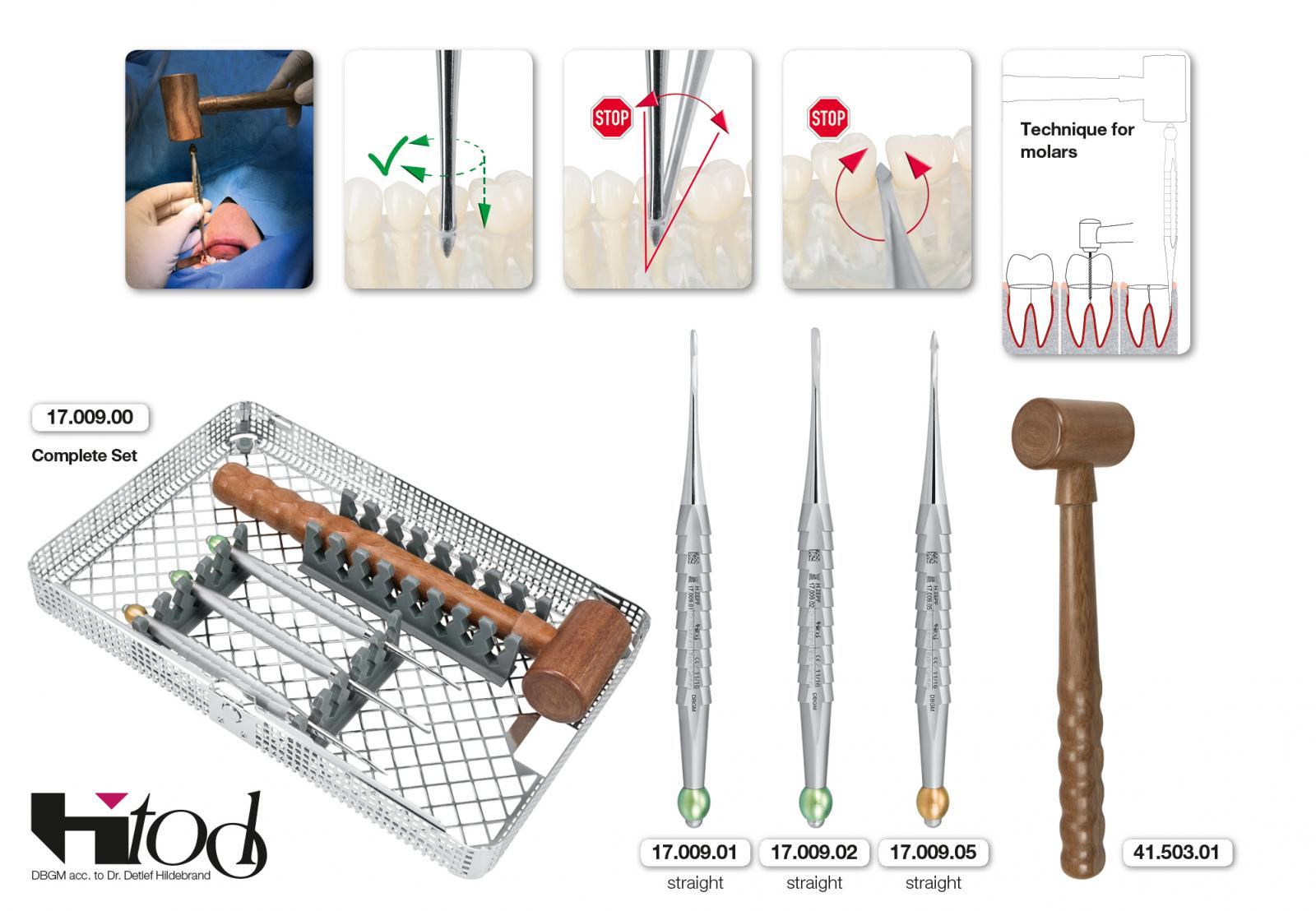 X-TOOL, H-TOOL KIT BY DR. HILDEBRAND, ORGANIZED IN A WASHBASKET INCL. A FERROZELL HAMMER