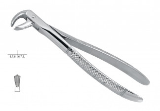 EXTRACTING FORCEPS, ENGL. PATTERN, FIG.73, FOR LOWER MOLARS