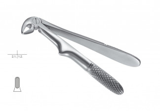 EXTRACTING FORCEPS FOR CHILDREN, KLEIN, ENGL.PATTERN, WITHOUT SPRING,FIG. 33-K