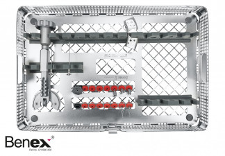 BENEX II TOOTH EXTRACTION SYSTEM COMPLETE INCL. RACK AND BASKET THE COMPLETE SET CONTAINS: