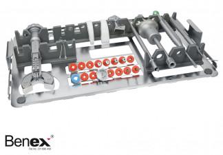 BENEX2 EXTRAKTIONS-SYSTEM >> OHNE KORB << DAS SET BEINHALTET: