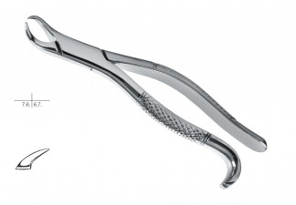 EXTRACTING FORCEPS, AMERICAN PATTERN, FIG. 16 LOWER MOLARS
