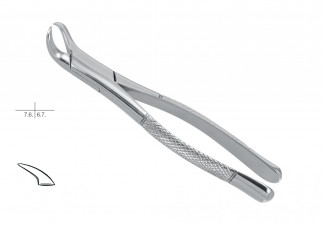 EXTRACTING FORCEPS, AMERICAN PATTERN, FIG. 23, LOWER MOLARS