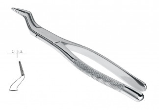 EXTRACTING FORCEPS, AMERICAN PATTERN, FIG. 65, UPPER INCISORS & ROOTS