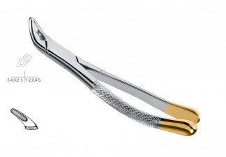 EXTRACTING FORCEPS, CRYER, AMERICAN PATTERN, FIG.151, DIAMOND COATED LOWER INCISORS, PREMOLARS & ROOTS