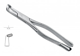 EXTRACTING FORCEPS, AMERICAN PATTERN, FIG. 222, LOWER 3RD MOLARS