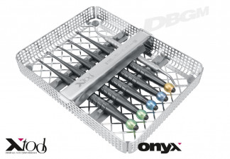 X-DESMO-TOOL-ELEVATOR-KIT, ONYX-COATED, BY DR. HILDEBRAND INCL. WASHTRAY