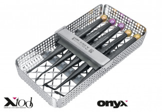 "X-TOOL, APPROXIMAL ELEVATOR KIT ""ONYX"" CONSISTING OF 5 APPROXIMAL ELEVATORS WITH ONYX COATING, IN A WASCHTRAY 1/3"
