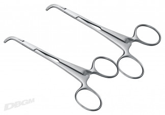 PLIERS OPERATIVE, 1 PAIR OF STRIP HOLDING FORCEPS, 12 CM
