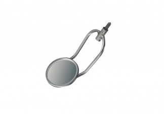 MOUTH MIRROR / CHEEK RETRACTOR FIG. 5, Ø24 MM, BACK SURFACE