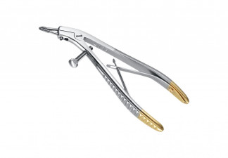 PLIER, ORTHODONTIC TELECROWN-GRIP W:1 MOVABLE AND 1 RIGID DIAMOND TIP, 2,35 MM, INTERCHANGEABLE