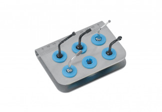 PIEZO BASIC KIT FOR OSTEOTOMY, SUITABLE E.G. FOR MECTRON, CONSISTING OF: