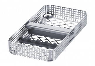 TRAY, WASHTRAY 1/3 FOR 5 INSTRUMENTS, WITH 2 INSTRUMENT SUPPORT AND