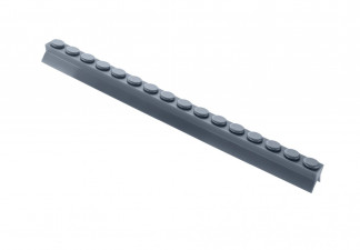 PRESS PAD FOR TRAY, LENGTH 260 SILICONE, GREY